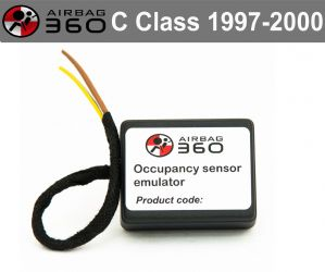 C Class  Front  Passenger Seat mat Occupancy Sensor, occupied recognition sensor  emulator